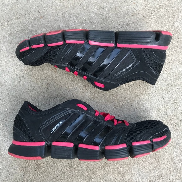 Adidas Climacool Black/Pink Shoes